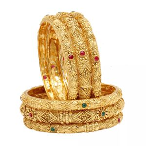 "Gold tone gold plated Bollywood Indian Kundan jewelry accessory bangles set bracelet size 2-8"" for Sale in Spencerville, MD"