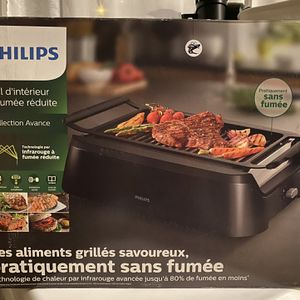 Phillips Smokeless Indoor BBQ Grill for Sale in Oxnard, CA