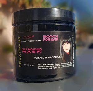 D'Lila Botox for Hair Treatment 16 oz for Sale in Miami Gardens, FL
