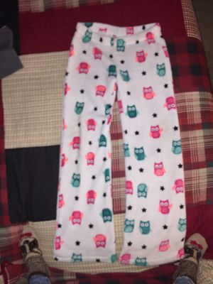 Owl fleece So sweat pants, justice mock neck long sleeve sweater for Sale in Indianapolis, IN