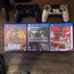 PS4 Controller N Games for Sale in Baton Rouge, LA