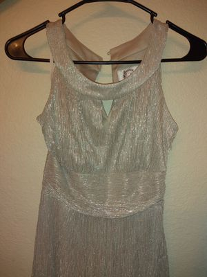 Silver Dress (Great for Homecoming) for Sale in Mesa, AZ