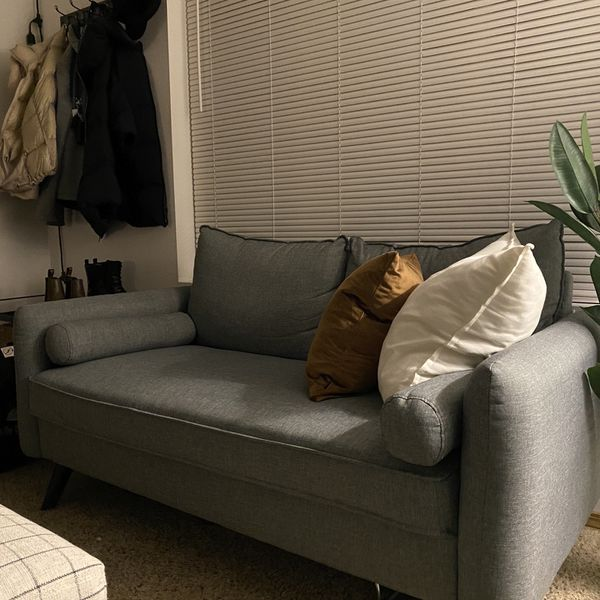 Small Space Grey Couch