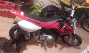 Very clean 2006 honda crf50 with key for Sale in Baltimore, MD