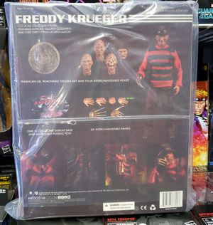 Mezco Toys One:12 Collective: A Nightmare on Elm Street: Freddy Krueger Action Figure for Sale in Monterey Park, CA