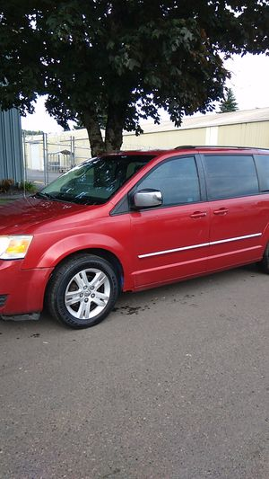 2008 Dodge Grand Caravan SXT, 4.0, DVD front and rear, Navi, Bluetooth, 185k, 5/21 Tags, Leather for Sale in Portland, OR