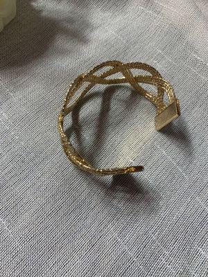 Popular Women's Luxury Style Punk Wide Women Gold Bangle Bracelet Female Party Anniversary for Sale in Tustin, CA
