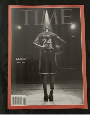 Kobe Bryant Time magazine tribute for Sale in Fort Worth, TX