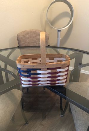 Longaberger Handmade Basket for Sale in Dallas, TX