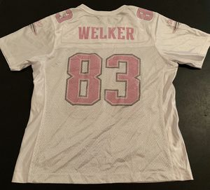 Wes Welker New England Patriots Women's NFL Jersey - Size Large Pink for Sale in Katy, TX