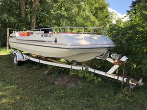 1985 Viking Deck Boat for Sale in Auburn Hills, MI