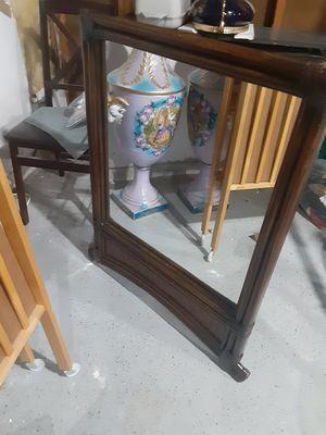 Wooden mirror for Sale in Reston, VA