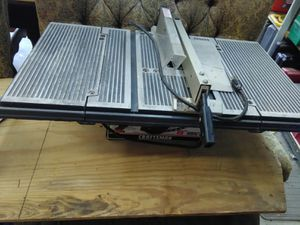 "Craftsman 8"" portable table saw for Sale in Winter Park, FL"