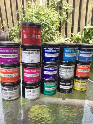 Vanson rubber based letterpress ink lot - full range of colors for Sale in Chicago, IL
