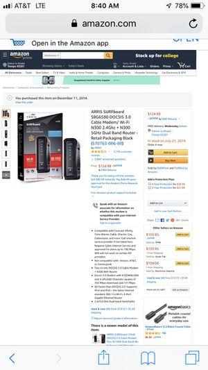 Router modem for Sale in Tempe, AZ