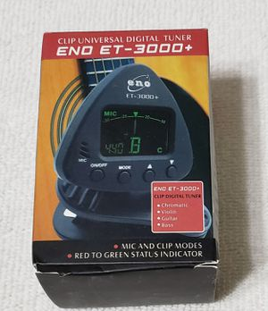 Chromatic Tuner for any instrument for Sale in Las Vegas, NV