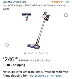Dyson V7 allergy new in box for Sale in Los Angeles, CA