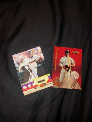 Barry Bond baseball cards for Sale in Kirkland, WA