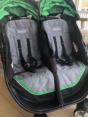 Graco ClickConnect Double Stroller for Sale in Port Saint Joe, FL