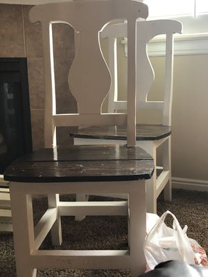 6 kitchen table chairs for Sale in West Valley City, UT