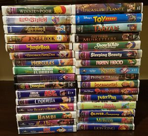 32 Disney VHS Movies for Sale in Ontario, CA