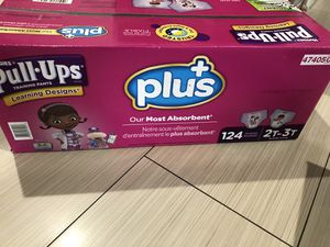 Huggies pull ups 2T-3T 124 count for Sale in South Brunswick Township, NJ