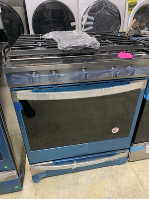 """Slide stove gas range convection oven whirlpool stainless steel 30"""" for Sale in La Puente, CA"""