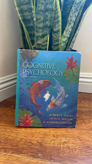 Cognitive Psychology 8th Edition Textbook for Sale in Los Angeles, CA