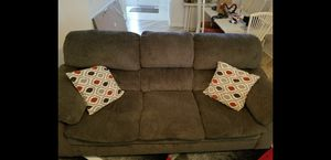 Albany Charcoal Sofa and Love Seat for Sale in Sanford, FL
