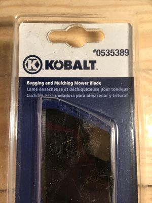 Kobalt 40v Max Bagging And Mulching Blade for Sale in Chesterfield, VA