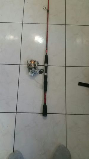 Fishing rod and reel for Sale in Lynwood, CA