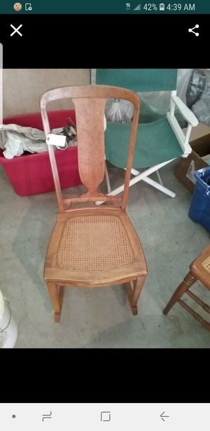 Antique rocking chair....came around the horn from England 200 years ago! for Sale in Eagle Creek, OR