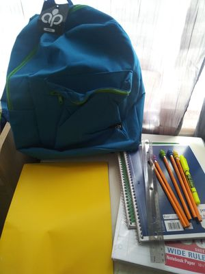 Ob backpack with school supplies brand new with tags for Sale in West Miami, FL