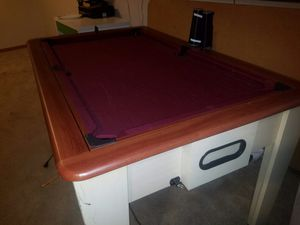 Kid's pool table, flips into air hockey for Sale in Saint ANTHNY VLG, MN