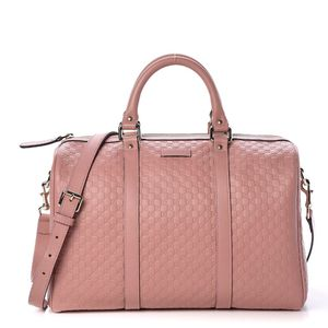 Gucci Guccissima Boston Bag in Soft Pink for Sale in Garland, TX