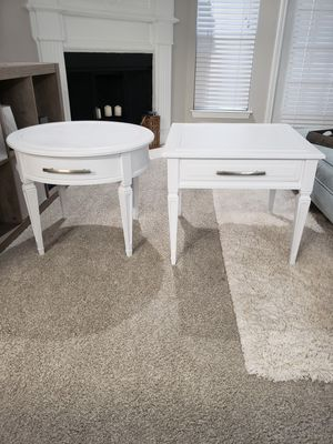 Nightstands - Hekman - Bright White Classic Modern Design - Set of 2 for Sale in Stonecrest, GA