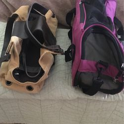 . Two small pet carriers for a cat or a small dog for Sale in Charlotte,  NC