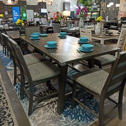 NEW, HIGH COUNTER DINING SET, 6 PCS,SKU#TCF2495. for Sale in Santa Ana,  CA