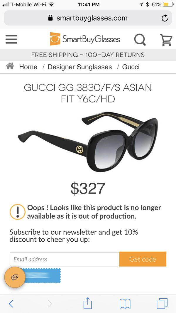 5bf2bf553dfae GUCCI GG Asian Fit Sunglasses for Sale in Lake Ridge
