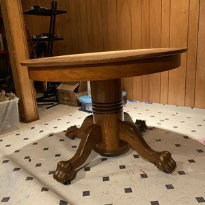 Oak Kitchen Table With Four Chairs for Sale in Portland, OR