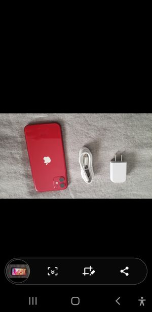 Iphone 11 128g New in Red for Sale in Los Angeles, CA