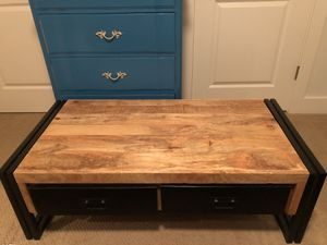 Rustic reclaimed wood coffee table. for Sale in Seattle, WA