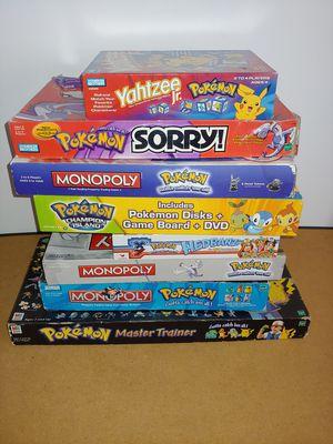 Pokemon monopoly board games for Sale in Carson, CA