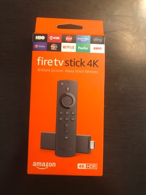 Amazon Fire TV Stick 4K for Sale in Tallahassee, FL