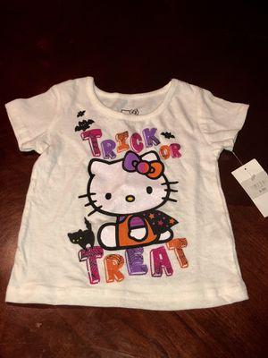 New Hello Kitty Halloween Shirt 18 Months for Sale in Hemet, CA