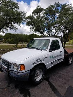 2002 Ford Ranger 3.0 v6 FLATBED for Sale in Spring Branch, TX