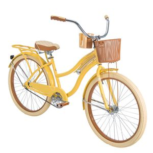 "Huffy 26"" Women's Yellow Cruiser Bike, new in box for Sale in San Diego, CA"