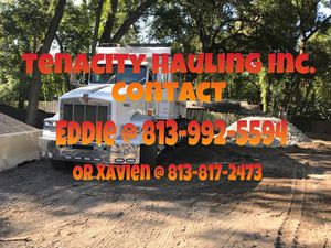 Hauling/ Bobcat services at your convenience!!! for Sale in Tampa, FL