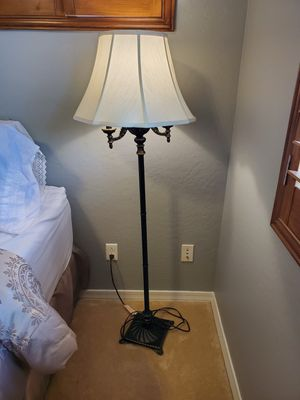 Floor lamp, shade is torn on the inside for Sale in Mesa, AZ