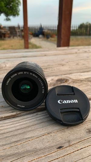 Canon 10-18mm Ef-S Lens with Image Stabilizer for Sale in San Diego, CA